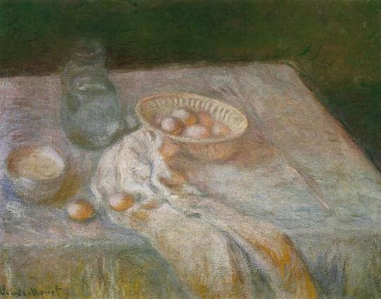 Клод Моне «Натюрморт з яйцями», 1907