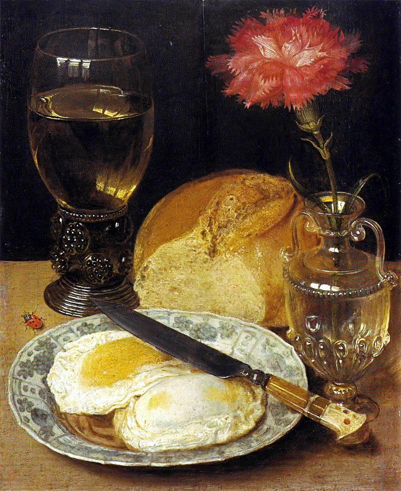 Георг Флегель (1566-1638), «Натюрморт з яєчнею»