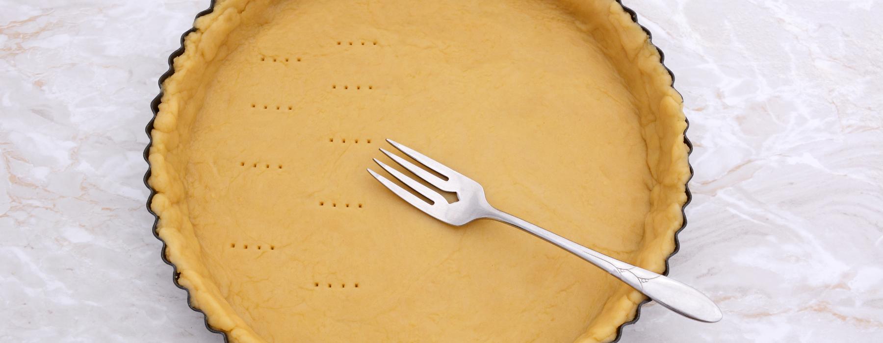 корж для пирога з яблуками і безе