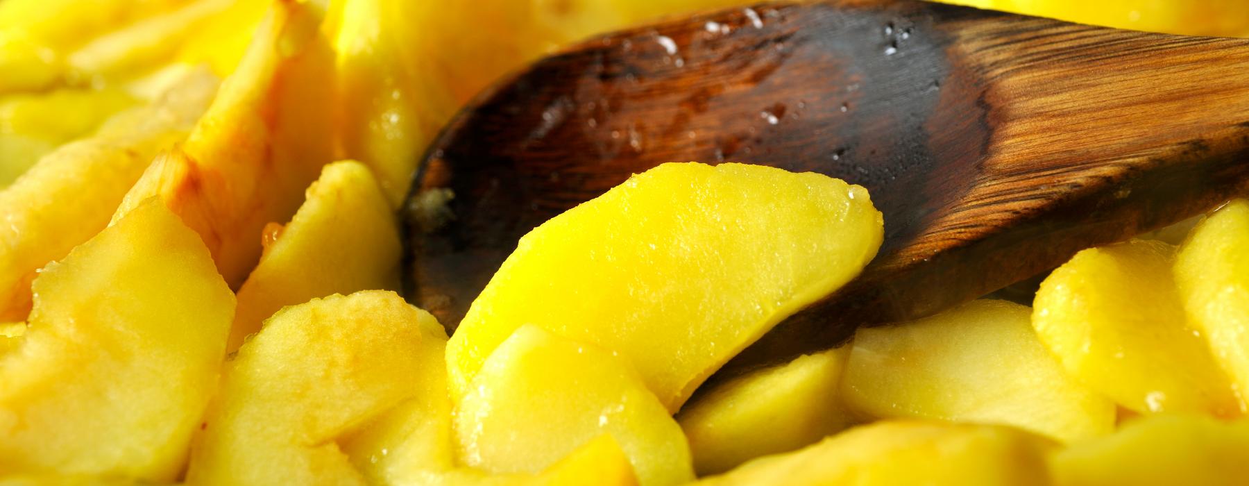 начинка для пирога з яблуками і меренгою